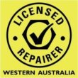 Licensed Repairer Wester Australia Accreditation Logo on Meticulous Mechanical Services